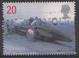GRANDE-BRETAGNE Mi.nr:1767 Geschwindigkeitsrekordfah Rer 1998 OBLITÉRÉ-USED-GEBRUIKT - Used Stamps