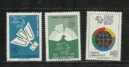 TURCHIA - TURKÍA - TURKEY 1974 UPU UNIVERSAL POSTAL UNION SET MNH - 1921-... République