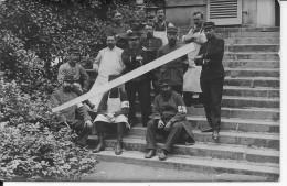 Hôpital Français Officiers Médecins Chirurgiens Infirmiers Brancardiers 1 Carte Photo 1914-1918 14-18 Ww1wwI Wk - War, Military