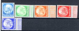Deutsches Reich Michel No.  467 - 471 ** postfrisch