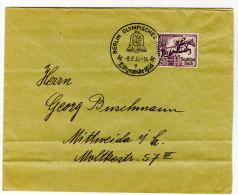 Deutsches Reich Michel No. 609 - 616 gestempelt used auf Umschlag Sonderstempel