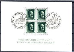 Deutsches Reich Block 7 gestempelt used