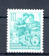DDR Michel No. 409 Y I ** postfrisch / kleiner Gummifehler