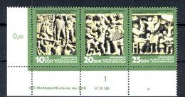DDR Michel No. 1988 - 1990 ** postfrisch DV Druckvermerk