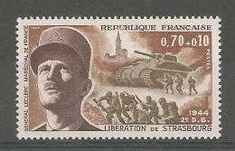 1608** Libération De Stasbourg Et Maréchal Leclerc - Unused Stamps