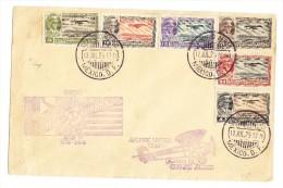Mexico - FDC Flugpost Brief  Cap. Emilio Carranza 12.Jul.1929 - Mexique