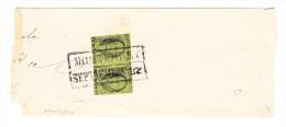 Mexico - Briefstück Monterry Mit Paar 1 Real - Mexique