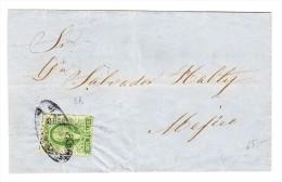 Mexico - Briefhülle Mexico 8.MAR.1859 Nach Mexico Mit 3B - Mexique