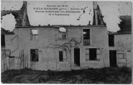 Viels Maisons Ferme Vinots Brulée Par Les Allemands Le 14 Sep 1914 TB état - Frankrijk