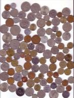 Lot De 105 Monnaies Asie Différentes - Coins & Banknotes