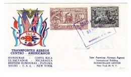Nicaragua - Flugpost TACA 20.nov.1943 Managua Nach N.York USA - Nicaragua