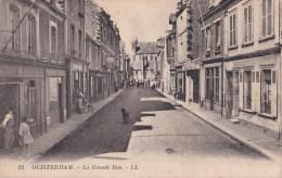 CPA - OUISTREHAM - LA GRANDE RUE - Ouistreham