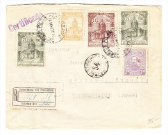 Paraguay R-Brief Pilarnach Holice Tchecoslovakei Mit AK Praha 26.XI.38 - Paraguay