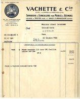 VACHETTE ET CIE  -  SERRURERIE QUINCAILLERIE POUR MEUBLES ET BATIMENT  -  TROYES  -  1935 - France