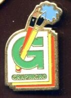 """LILLE """" GRAPHIGRO """"    Vert Pg13 - Steden"""