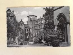 HEIDELBERG DER SCHLOBHOF VIAGGIATA. M - Karlsruhe