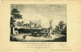 CHALON SUR SAONE - Vue De La Citadelle Et De La Grande Place Du Marché Prise Du Levant Illustré - Chalon Sur Saone