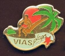 """"""" VIAS PLAGE """"    Vert Pg13 - Villes"""