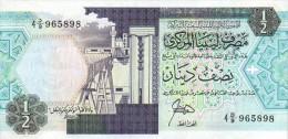 Libya 1/2 Dinar 1990  Pick 53 UNC - Libya