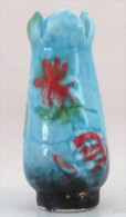 Fève   Vase Bleu D´après E Gallé - Personaggi
