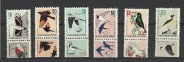 Israel 1193/1196 ** + 1202/1203 **  Oiseaux Birds Uccelli Pajaros Vogel Hirondelles Swallow Wallcreeper - Swallows