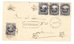 Peru R-Brief 13.10.1888 - Pérou