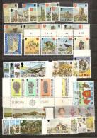 1977 1978 Isola Di Man 2 ANNATE,  2 YEARS  12 Serie, 46v. (85/130) MNH** - Isola Di Man