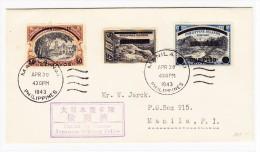 Philippines Manilla Brief Apr.30.1943 Ortsbrief Mit Japanische Zensur - - Philippines