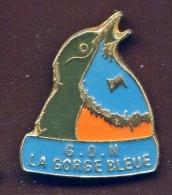 """LILLE """" G.O.N. La Gorge Bleue""""       Vert Pg13 - Steden"""