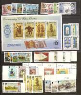 1975 1976 Isola Di Man 2 ANNATE, 2 YEARS  9 Serie + BF2 (41/84) MNH** - Isola Di Man