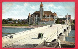 CPA: Etats-Unis - USA - Ohio - Dayton - Main St Bridge And Steel High School - Dayton