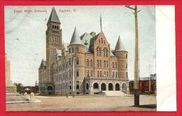CPA: Etats-Unis - USA - Ohio - Dayton - Street High School - Dayton
