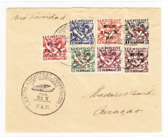 Suriname - Luftpostbrief DO X 17.8.1931 Nach Cura¢ao - Surinam