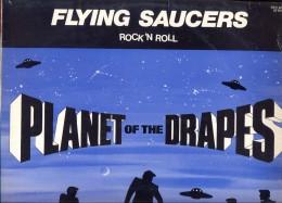 "LP Flying Saucers "" Planet Of The Drapes"" Gesigneerd 1x Op De Kaft + 1x Op Fotofolder - Rock"