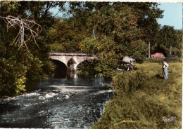 C P S M-C P M-------77---BRIE COMTE ROBERT  Le Pont De L'yerres--- ---voir 2 Scans - Brie Comte Robert