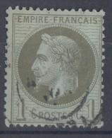 Frankreich Minr.24 Gestempelt - 1863-1870 Napoléon III. Laure