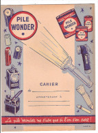 Protège Cahier Pile Wonder - Electricité & Gaz