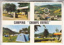 "MEYRUEIS 48 - CAMPING "" CHAMPS D'AYRES ""   - CPSM GF 1972 - Lozère - Meyrueis"