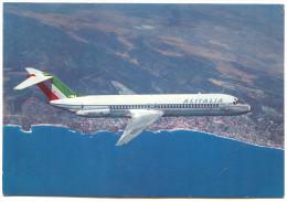 Airplane - DOUGLAS DC - 9/30, ALITALIA - 1946-....: Moderne