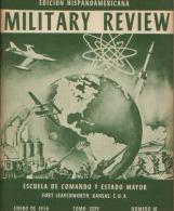 MILITARY REVIEW EDICION HISPANOAMERICANA ENERO 1956 - Spanish