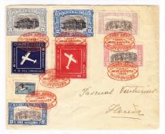 Uruguay R-Flugpost Brief Montevideo 25.8.1928 Nach Florida - Uruguay
