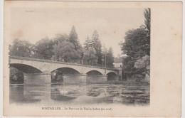 Pontailler-sur-Saöne  -  Le Pont Sur La Vieille Saône, En Aval - Autres Communes