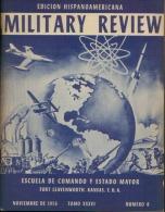 MILITARY REVIEW EDICION HISPANOAMERICANA NOVIEMBRE 1956 - Spanish