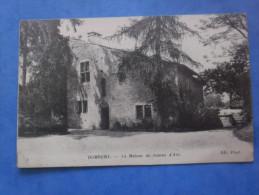 88-DOMREMY La Maison De Jeanne D´arc , écrite Au Verso En 1917 - Monuments