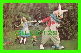 WALT DISNEY WORLD - HURRY ALICE... WE'RE LATE - WHITE RABBIT - - Disneyworld