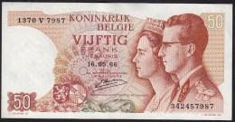 België 50 Frank 14-5- 1966 -NO: 1370 V 7987 - [ 6] Treasury
