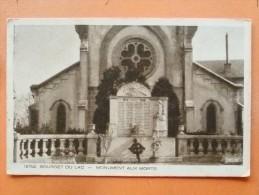V09-74-cpa-2-haute Savoie-bourget Du Lac-monument Aux Morts-- - Autres Communes