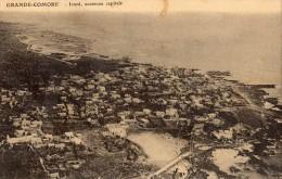 COMORES GRANDE-COMORE ICONI ANCIENNE CAPITALE VUE AERIENNE - Comores