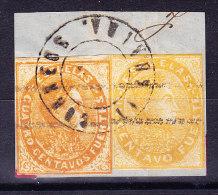 Venezuela 1871 - 2 Marken Auf Briefstück - Venezuela