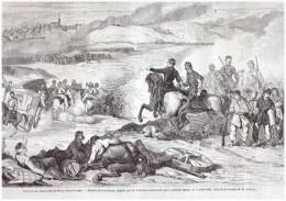 Gravure   D Epoque  1863  Invasion Du MARYLAND En PENSYLVANIE BATAILLE DE  GETTYSBURG   Meade  American Civil War - Documentos Antiguos